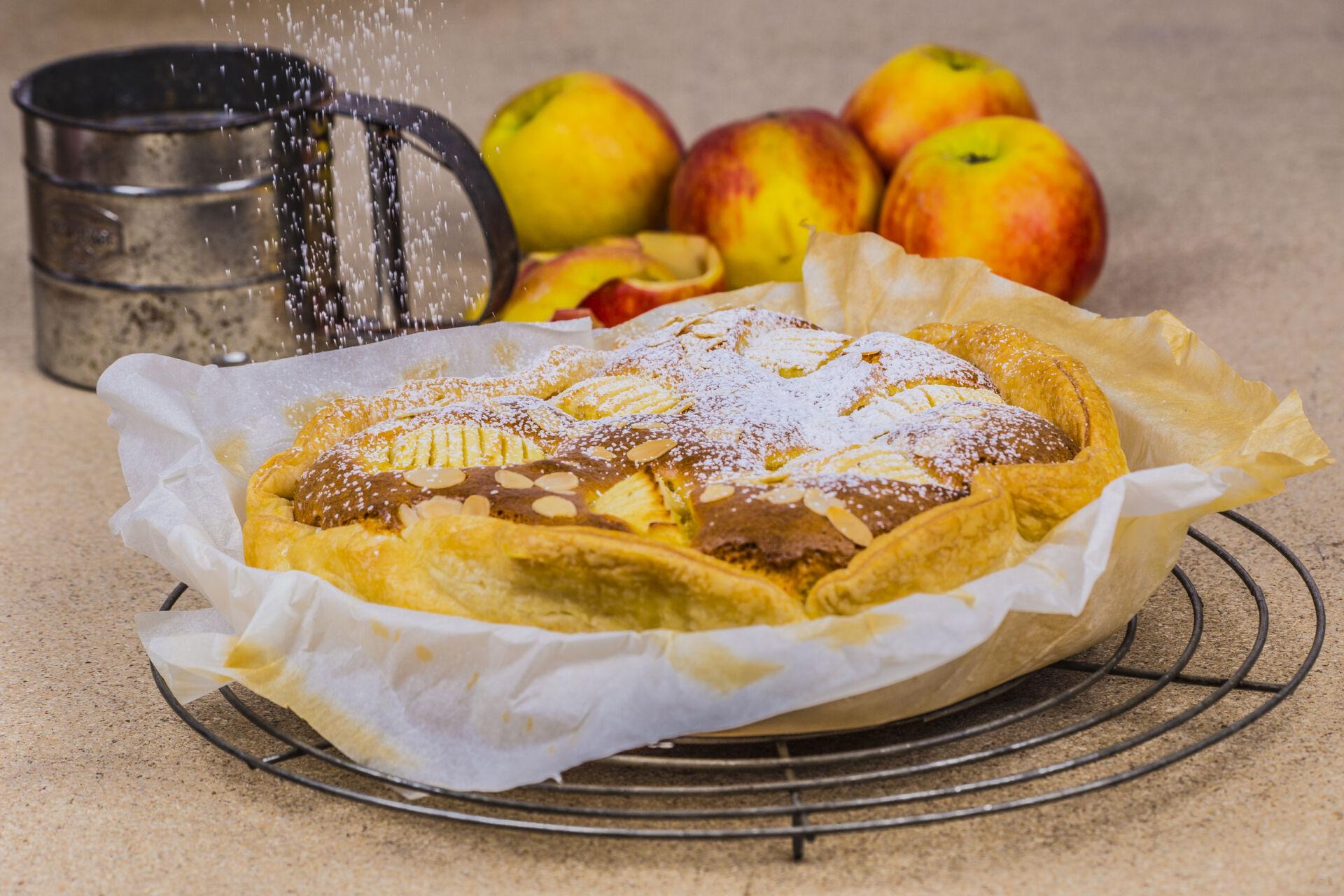 6 Luxe appeltaart