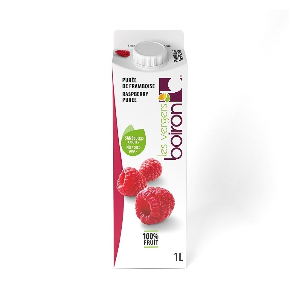 01440224 1kg amb raspberry puree boiron