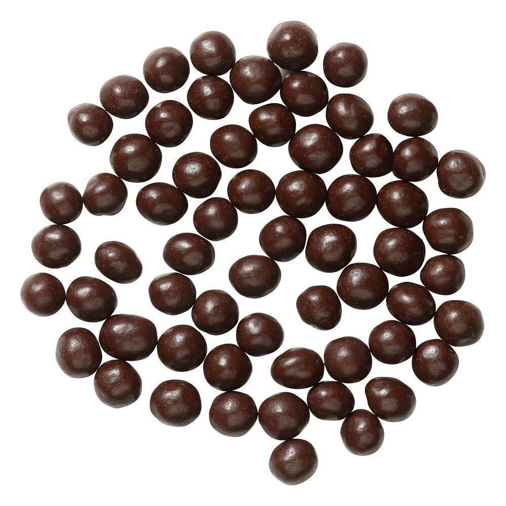 Crispearls dark chocolate product shot